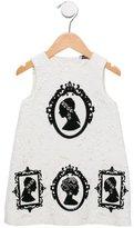 Dolce & Gabbana Girls' Cameo Matelassé Dress w/ Tags