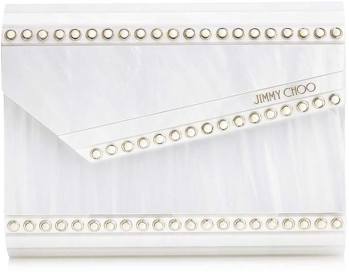 Jimmy Choo Studded Candy Box Clutch