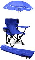 Redmon Kids' Camp Chair with Umbrella in Blue
