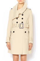 Runway Nude Trench Coat