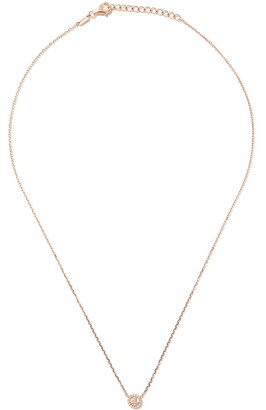 As 29 18kt rose gold Miami Peace diamond necklace