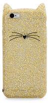 Kate Spade Glitter Cat Soft iPhone 6 Case