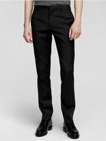 Calvin Klein Collection Bonded Wool Slim Pant
