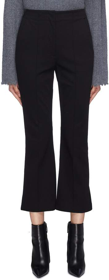 Alexander Wang Logo waistband flared pants
