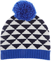 Barneys New York POM-POM CASHMERE HAT