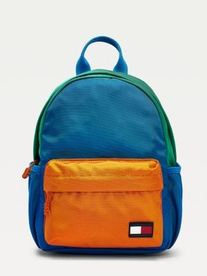 Tommy Hilfiger Kids Colour-Blocked Small Backpack