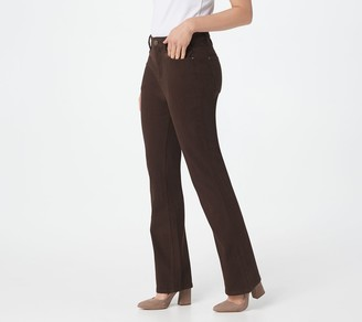 Belle By Kim Gravel Flexibelle 5-Pkt Boot Cut Jeans Petite