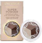 Pacifica Super Powder - Eye Shadow Trio - Stone, Cold, Fox by 0.1oz Eyeshadow)