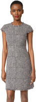 Rebecca Taylor Sleeveless Houndstooth Dress