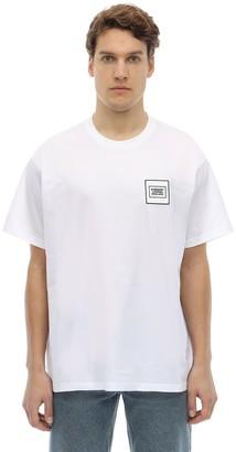 Burberry Oversized Logo Patch Jersey T-shirt