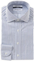 Daniel Cremieux Striped Non-Iron Slim-Fit Spread-Collar Dress Shirt