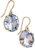 Kate Spade Shine On Gold-Tone Crystal Drop Earrings