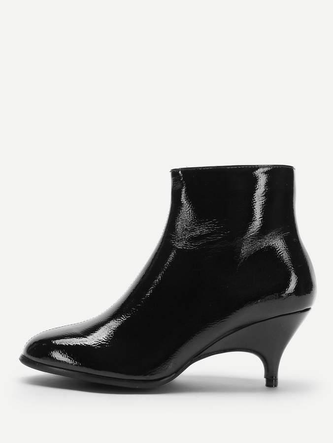 ce3d73ef52 Kitten Heel Ankle Boots - ShopStyle