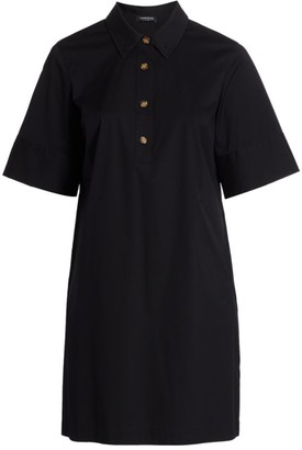Lafayette 148 New York, Plus Size Conroy Polo Shirtdress