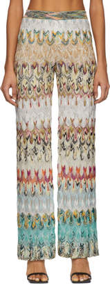 Missoni Multicolor Knit Lounge Pants