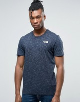 The North Face Simple Dome T-Shirt in Navy Marl