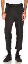 Oamc Cropped Troop Pants in Black.