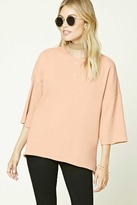 Forever 21 FOREVER 21+ Contemporary Dolman Sweatshirt