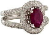 Ring 18K Ruby & Diamond