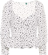 Thumbnail for your product : Rixo Sameera printed linen-blend top