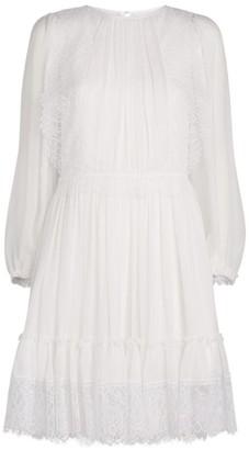 Chloé Lace-Trim Dress