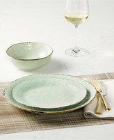 Laurie Gates Spoleto Green 16-Pc. Dinnerware Set