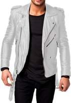 Laverapelle Men's Genuine Lambskin Leather Jacket - 1510532