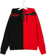 Marcelo Burlon County Of Milan Kids wings print hoodie