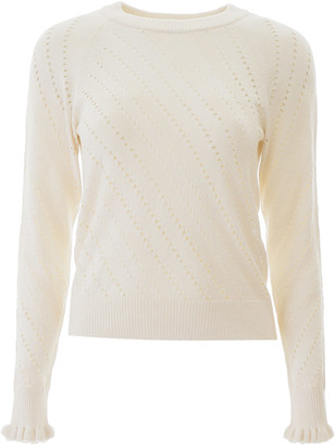 See by Chloe Perforated Sweater