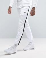 Nike Tribute Skinny Joggers In White 678637-100