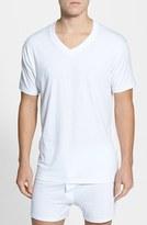 Nordstrom Men's 4-Pack Regular Fit Supima Cotton V-Neck T-Shirts