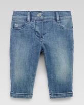 Gucci Washed Denim Pants, Powder Blue
