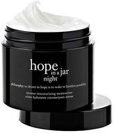 Philosophy hope in a jar night intense retexturing moisturizer