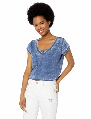 Jack by BB Dakota women's Cross My Heart Burnout Top