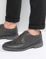 Selected Ronald Leather Brogue Shoes