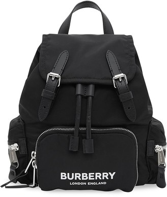Burberry The Small Rucksack in Logo Print ECONYL