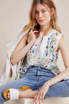 Anthropologie Isolde Embroidered Blouse