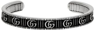 Gucci Silver GG Marmont Bracelet
