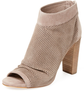 Vince Camuto Cosimo Perforated Suede Bootie