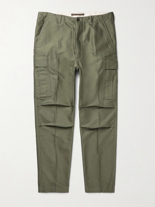 Tom Ford Cotton-Twill Cargo Trousers - Men - Green