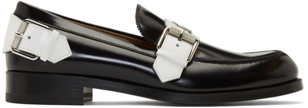 Christian Louboutin Black Monmoc Flat Loafers