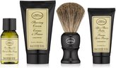 The Art of Shaving The 4 Elements of The Perfect Shave Mid-Size Kit - Unscented Original by for Men - 4 Pc Kit 1oz Pre-Shave Oil, 1.5oz Shaving Cream , 1oz After-Shave Balm , Pure Badger Black Shaving Brush