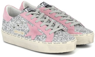 Golden Goose Hi Star glitter sneakers