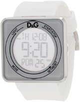 Dolce & Gabbana Women's DW0735 High Contact White Dial & Strap Touch Screen Watch