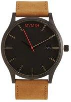 MVMT Classic Tan Leather Watch