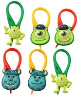 Hermes 6 pcs Monster University Colorful Bag Tag Identify your Luggage / Sac Colores Marker