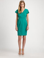 Max Mara Weekend Buckle-Detail Sheath Dress