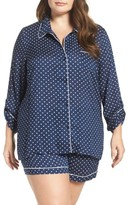 Nordstrom Plus Size Women's Shorts Pajamas
