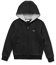 Lacoste Boys' Zip-Up Hoodie - Little Kid, Big Kid