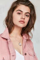 Urban Outfitters Vintage Mother Of Pearl Charm Necklace